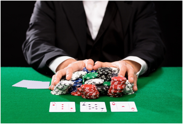 When should you consider going 'all in' in poker?